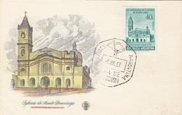 ARGENTINIEN 1957 - Sondermarke Auf Bildpostkarte Mit Sonderstempel - Argentinien