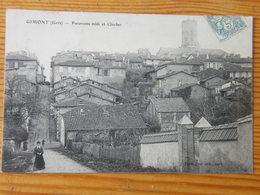 CPA Gimont Panorama Midi Et Clocher1906 - Autres Communes