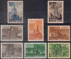 Russia 1950, Michel Nr 1527-34, MH OG - 1923-1991 URSS