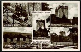 Ref 1286 - Real Photo Multiview Postcard - Blarney Castle - County Cork Ireland Eire - Cork