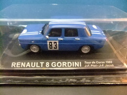 RENAULT 8 GORDINI Tour De Corse 1966 J-F.Piot - J-F.Jacob - Carros