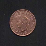 622-France Pièce De 1c 1886 A - A. 1 Centesimo