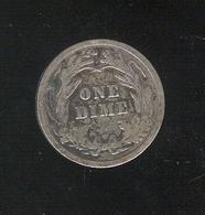 1 Dime Etats Unis / USA 1908 - Federal Issues
