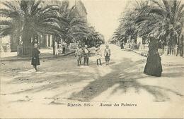 AJACCIO  - Avenue Des Palmiers  - Editoin Cardinali - Ajaccio