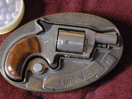 Pistolet Ceinture Américain A Blanc - Armes Neutralisées