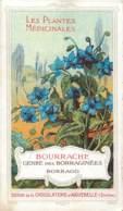 CHROMO CHOCOLATERIE D'AIGUEBELLE LES PLANTES MEDICINALES BOURRACHE - Aiguebelle