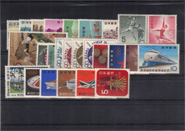 Japon 1964 Complet Yvert 766/91 Neufs** MNH (69) - 1926-89 Imperatore Hirohito (Periodo Showa)