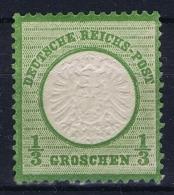 Deutsches Reich: Mi Nr 17A Postfrisch/neuf Sans Charniere /MNH/** 1872 Small Spot And Fold At Bottom  In Gum - Deutschland