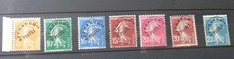 Timbres 50 à 56, Lot 1498 - 1893-1947