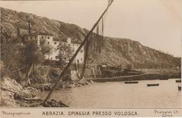 Croatie . Abbazia . Spiaggia  Presso Volosca . - Croatia