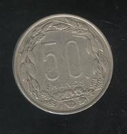 50 Francs Banque Centrale 1961 - Rep. Centrafricaine Congo Gabon Tchad - Coins