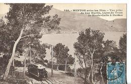 Tramway MENTON CAP Martin Montecarlo - Tramways
