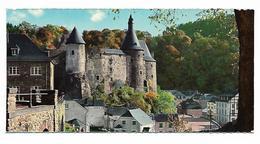 Luxembourg Clervaux Le Château Fort  Petit Format 7.5cm/14.5cm - Clervaux