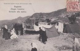 BAGNARA-REGGIO CALABRIA-BARACCHE ALLA MARINA-CARTOLINA VIAGGIATA IL 5-2-1909 - Reggio Calabria