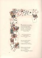 Jerome Doucet 1899 La Chanson Des Cartes à Jouer Gravure Pascalides Illustrateur - Livres, BD, Revues