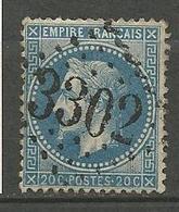 NAPOLEON N° 29B OBL LOSANGE GC 3302 ( SARRALBE ) - Marcophilie (Timbres Détachés)
