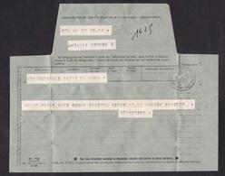 France: Telegram Form, 1986, Telegramme, Cable (damaged: Folds) - Frankrijk