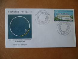 POLYNESIE FRANCAISE FDC POSTE  AERIENNE N° 62 - FDC
