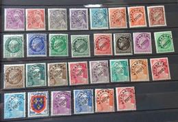Timbres N° 78 à 105,  Lot 1502 - 1893-1947