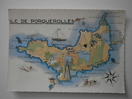 83 Ile De Porquerolles, Vue Générale (A8p37) - Porquerolles