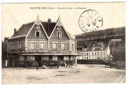 MONTIVILLIERS (76) - Place De La Gare - La Cheseraie - Montivilliers