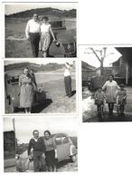 Joli Lot De 4 Photos - CITROËN 2CV - Années 1960 - Automobiles