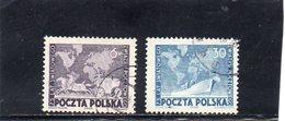 POLOGNE 1949 O - Usados