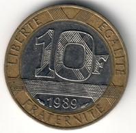 France 10 Francs 1989 - 13 Stries - K. 10 Francs