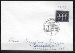 ALLEMAGNE FDC 1969   Guerre Tombes Militaires - WW2