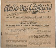 L'écho Des Coiffeurs. N° 103 Janvier 1930 - Livres, BD, Revues