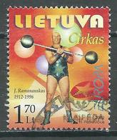 Europa 2002 Lituanie YT N°690 Le Cirque Oblitéré ° - 2002