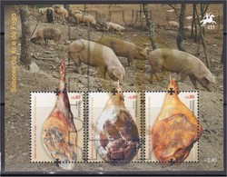 Portugal 2012 Sabores Do Ar Presunto Melgaço Vinhais Barroso Jambon Schinken Ham Food Comida Jamón Air Fire Flavour - Alimentación