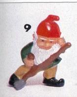 Kinder Ferrero Gnomburloni - 9 Zac Tagliaerba - Monoblocchi