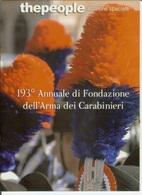 193° Annuale Di Fondazione Dell' Arma Dei Carabinieri. Opuscolo Celebrativo 2007 - Tamaño Grande : 2001-...