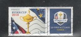 FRANCE 2018 RYDER CUP OBLITERE YT 5245 - France