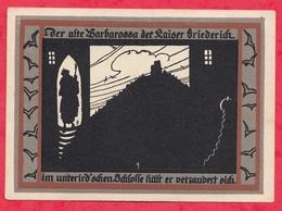 Allemagne 1 Notgeld De 50 Pfenning  Stadt Rossla  Dans L 'état  - N°3638 - [ 3] 1918-1933 : Repubblica  Di Weimar