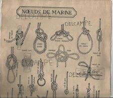 Nœuds De Marine. Papier Artisanal. - Affiches