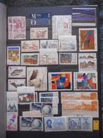 PHILATELIE, COLLECTION TIMBRES FRANCE 1986 / 2007 EN 2 ALBUMS Y Et T,  TOUS LES SCANS - Timbres
