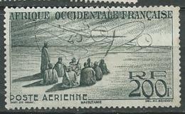 A.O.F.  AERIEN  -    Yvert N°  14 Oblitéré    - Bce 18718 - Usati