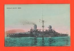 Nave Da Battaglia Saint Bon Ammiraglio Regia Marina Navir Schip - Guerra