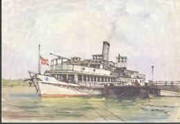 Schiff  Von   Tom Glazar   Dr. Johann Strauss - Zeichnungen