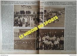 1928 LES JEUX OLYMPIQUES D'AMSTERDAM - HOCKEY SUR GAZON - BOL D'OR MOTOCYCLISTES - JOHNNY WEISSMULLER - Journaux - Quotidiens