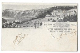 ORBEY (68) Carte Illustrée Lac Blanc Hotel Weisser See 1905 - Orbey