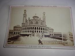 N/  PARIS EXPOSITION UNIVERSELLE DE 1878 PALAIS DU TROCADERO  NEURDEIN - Photos