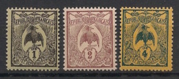 Nouvelle Calédonie - 1905-07 - N°Yv. 88 - 89 - 90 - Cagou 1c / 2c / 4c - Neuf Luxe ** / MNH / Postfrisch - Nuevos