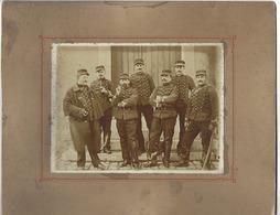 Lot De 10 Photos Anciennes - MILITAIRES - SOLDATS - UNIFORMES - Guerre, Militaire