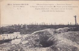 CPA HERBECOURT Le Bois De La Vache Et La Tranchée De La Falaise Guerre 1914/1918 - Guerre 1914-18