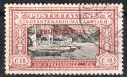1924 Tripolitania - Manzoni C.10 - Usato - Tripolitania