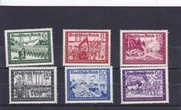 Deutsches Reich Mi.-Nr. 773-778  ** - Deutschland