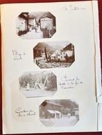 VILLAGE DE COURTE CANTINE DU FER A CHEVAL 7 PHOTOGRAPHIES ANCIENNES SIXT HAUTE-SAVOIE CHAMONIX MONT-BLANC - Non Classificati